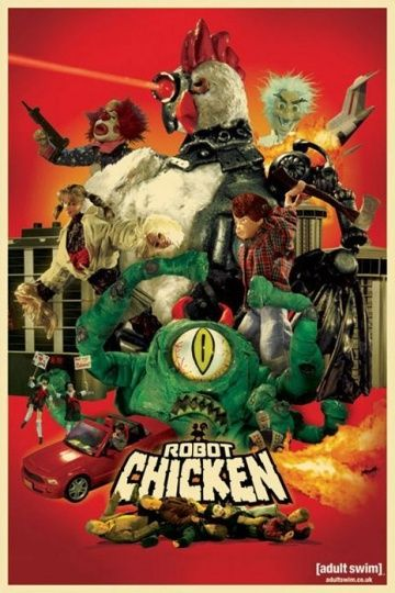 Робоцып / Robot Chicken / Сезоны 1, 2, 3 (2005-2015) на телефон ()