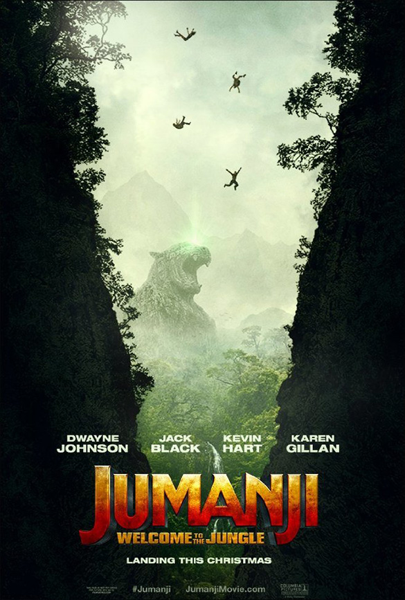 Джуманджи / Jumanji: Welcome to the Jungle (2017) MP4